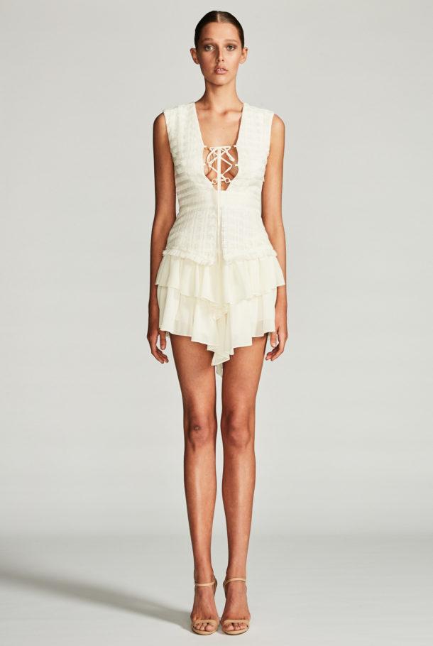 c406f7212fb Venus Waistcoat Mini Dress